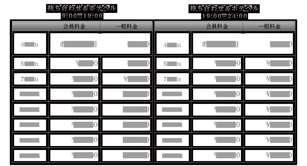 『秘密倶楽部 凛 TOKYO』錦糸町デリヘル 待ち合わせ型 人妻デリバリーヘルスSECOND STAGEコース料金